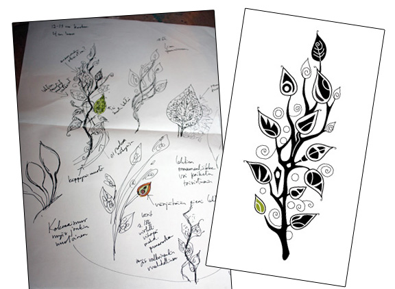 Tattoo, a design process