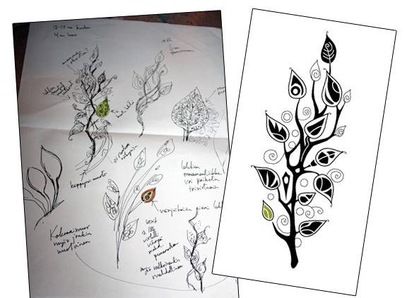 Tattoo, a design process