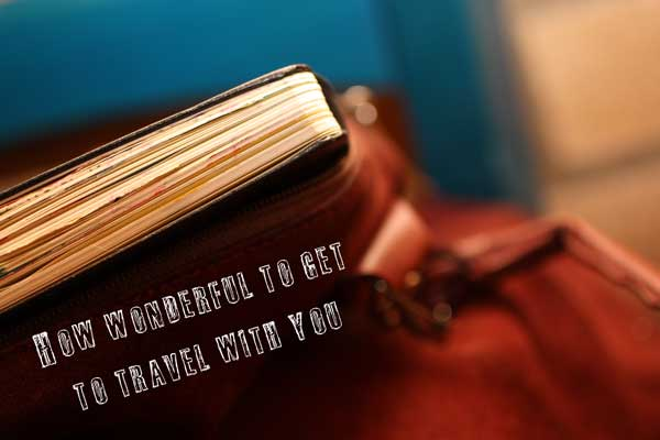 Travel with your art yournal, by Peony and Parakeet