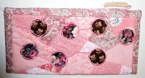 Quilted Zip Pouch by Peony and Parakeet