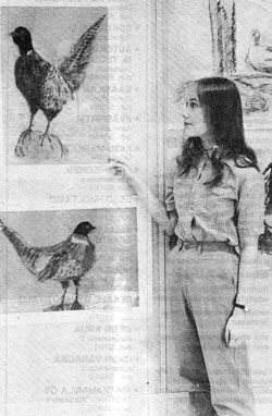 Paivi Eerola, Peony and Parakeet, in 1983