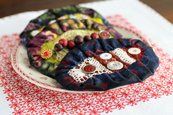 Mixed Media Karelian Pies by Peony and Parakeet