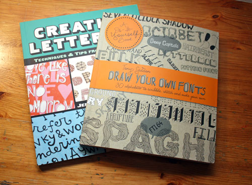 Books about Hand Drawn Fonts