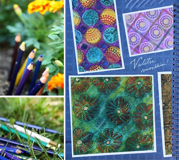 Summer crafting by Peony and Parakeet