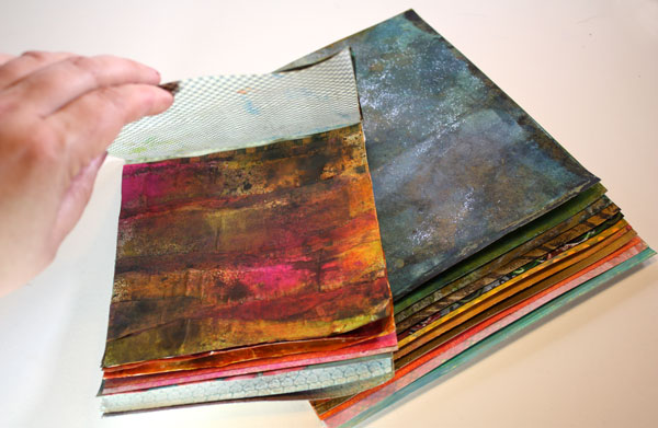 Handmade paper pads by Peony and Parakeet
