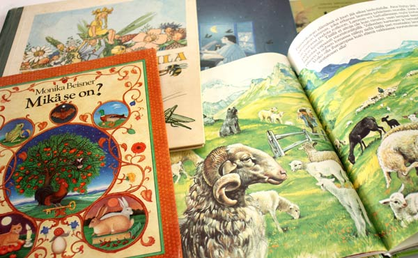 Read more about finding inspiration for art journaling from children's books.