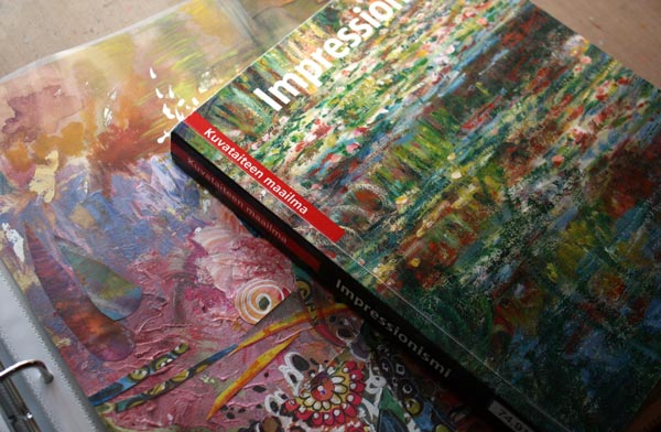 Read about how to use art books to trust yourself when creating art.