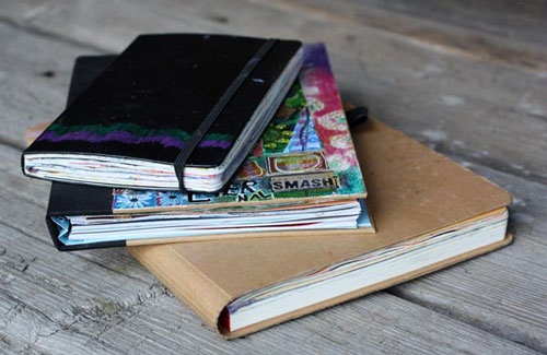 Art journals by Peony and Parakeet. An art journal page by Poeny and Parakeet. Read instructions to create an art journal page with only few basic supplies!