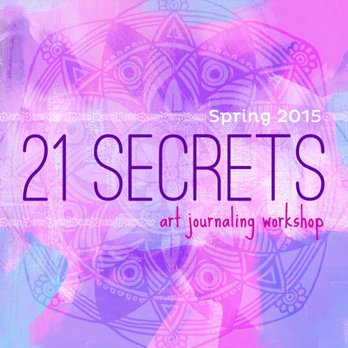 Click to buy 21 Secrects Art Journaling workshop!