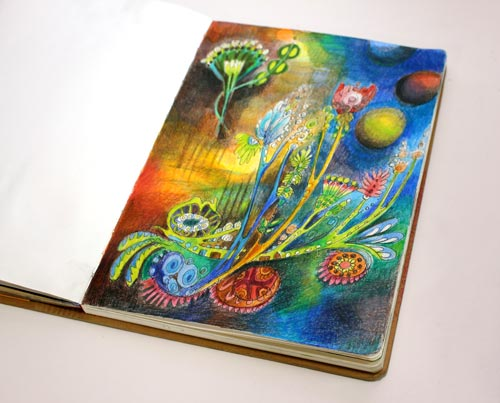 Growing towards Light by Peony and Parakeet. Read more about how to find inspiration for drawing.