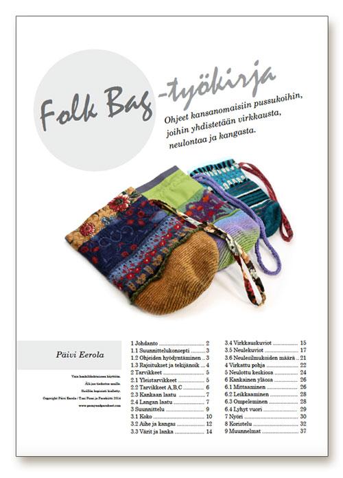 Folk Bag -työkirja, Päivi Eerola, Pioni ja Parakiitti
