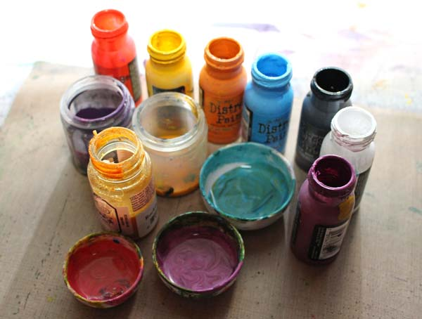 Fluid acrylic paints