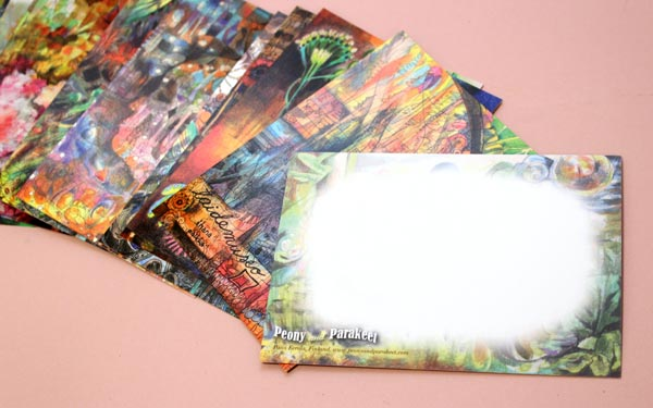 Postcards by Peony and Parakeet