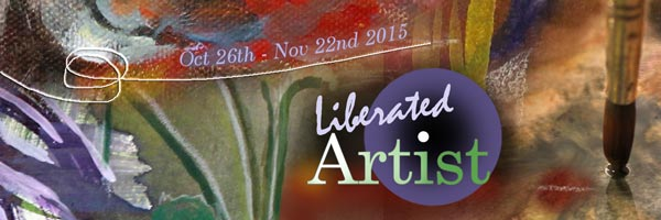 Liberated Artist, a 4-week online painting workshop