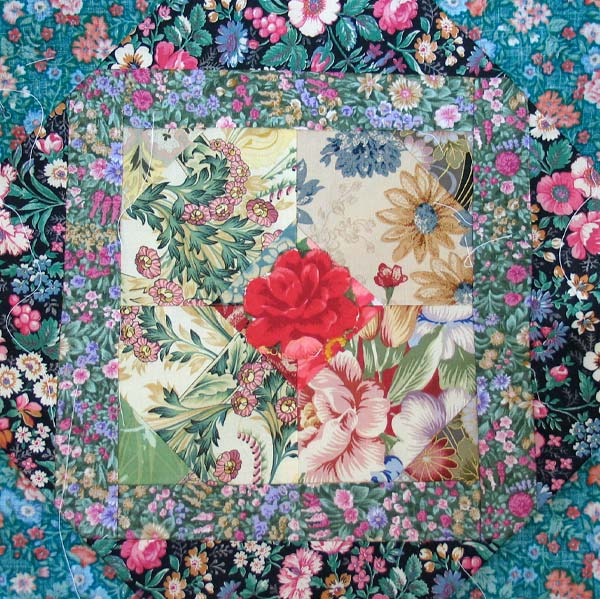 A Quilt Block by Peony and Parakeet