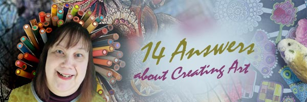 14 Answers about Creating Art - 14 short videos by Peony and Parakeet