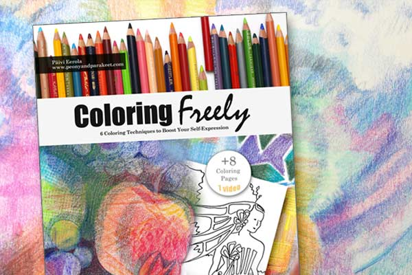 Coloring Freely - 6 Coloring Techniques to Boost Your Self-Expression