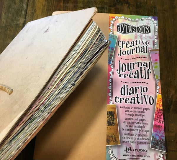 large Dylusions Creative Journal