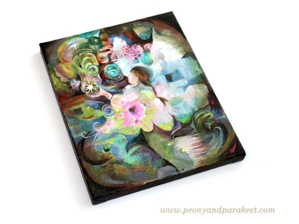 Healing Power, a finished artwork by Paivi Eerola from Peony and Parakeet