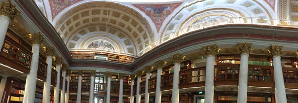 The National Library of Finland, one of the most beautiful libraries