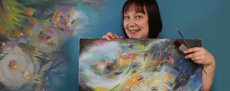 Paivi Eerola, a Finnish Artist, who sells original art and prints