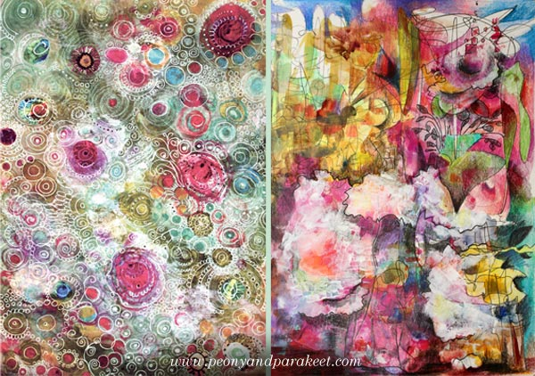 From creating circles to expressive freehand drawing. By Peony and Parakeet.