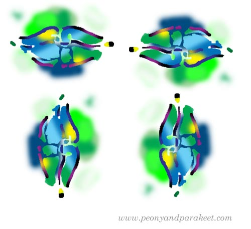 Tips for reducing stiffness by Paivi Eerola from Peony and Parakeet. See her article with more illustrated tips!