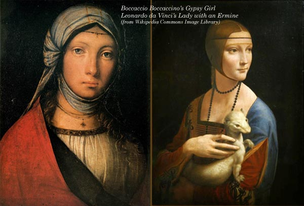 By Boccaccio Boccaccino and Leonardo da Vinci