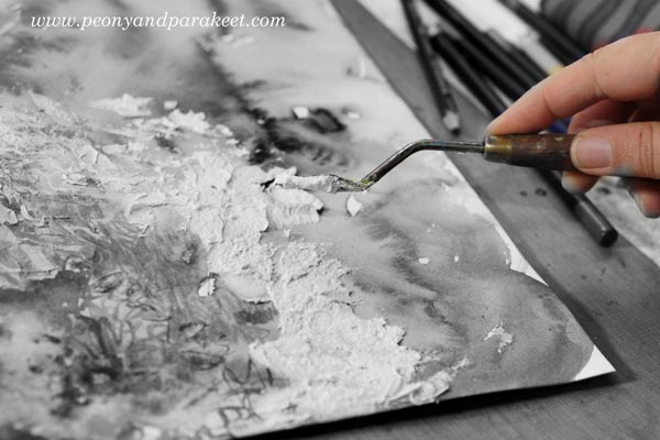 Making a mess. Read about 4 big misconceptions about making art!