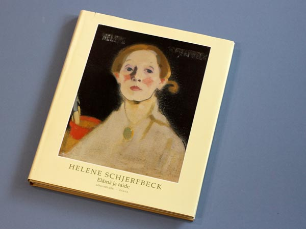Helene Scherfbeck - Elämä ja taide, a book about a famous Finnish artist, written by Lena Holger, published by Otava.