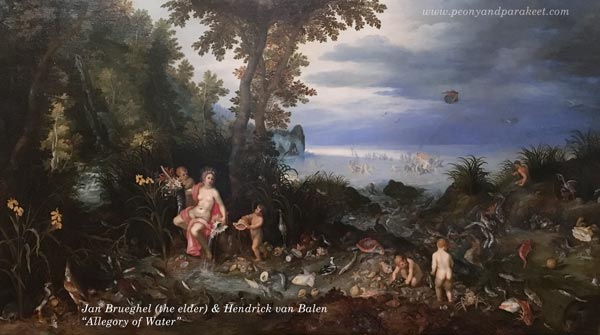 Jan Brueghel and Hendrick van Balen, Allegory of Water
