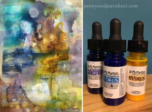 Dr Ph. Martin's Hydrus watercolors