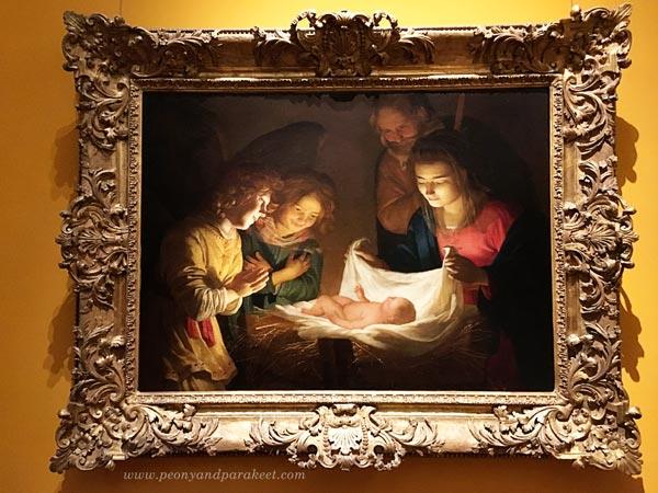 Gerard van Honthorst, Adoration of the Child, 1619-1620
