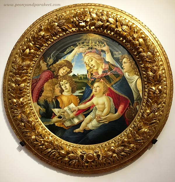 Sandro Botticelli: Madonna of the Magnificat, c. 1483