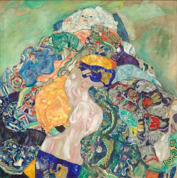 "Gustav Klimt: ""Baby (Cradle),"" 1917/1918"