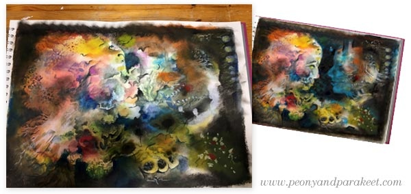Making of Captivating Connection by Paivi Eerola of Peony and Parakeet. See her tips on creating captivating art!