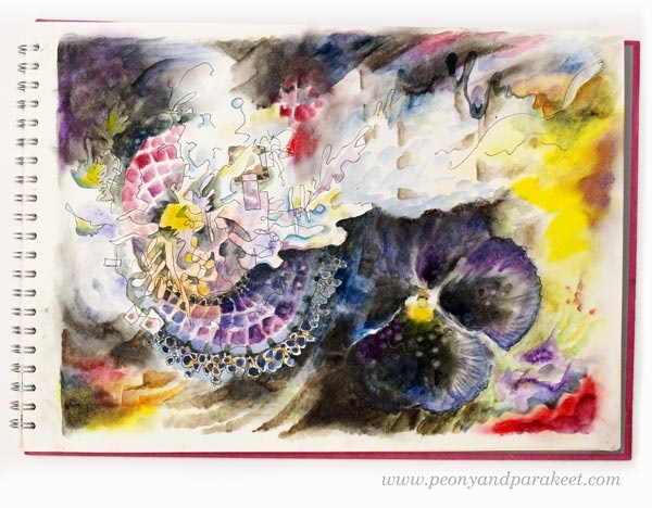 Envy by Paivi Eerola from Peony and Parakeet. See her tips on making your art more captivating!