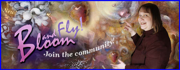 Bloom and Fly, an inspiring art community by Paivi Eerola from Peony and Parakeet.