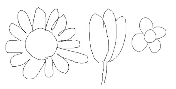 Stereotypes of a flower. You don't want to paint or draw these when creating expressive floral art!