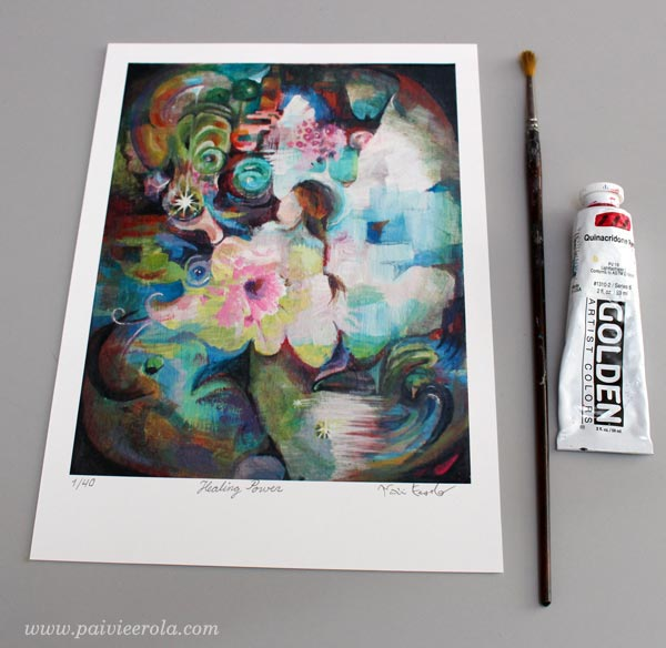 Healing Power - a limited Edition print by Paivi Eerola. Available at paivieerola.com!