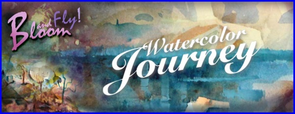 Watercolor Journey, an online art class by Paivi Eerola from Peony and Parakeet