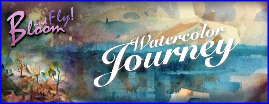 Watercolor Journey - Online art class by Peony and Parakeet