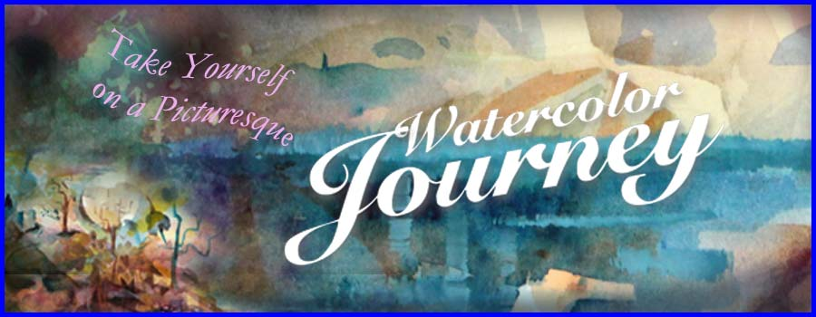Watercolor Journey - A comprehensive watercolor painting class by Paivi Eerola from Peony and Parakeet.