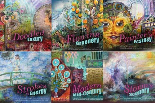 Imagine Monthly Art Journaling Bundle 1