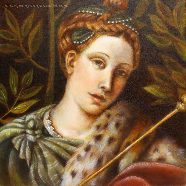 Famous Paintings Red Hair