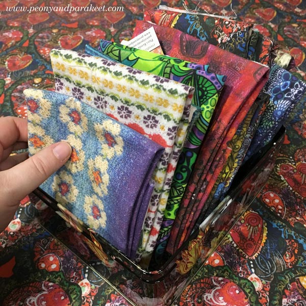 Fabrics by Paivi Eerola from Peony and Parakeet