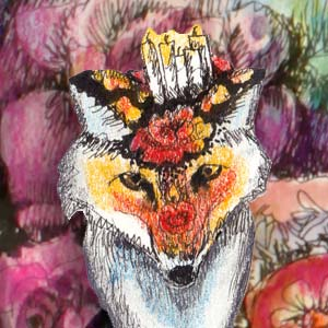 Animal Inkdom, an online art class by Paivi Eerola of Peony and Parakeet