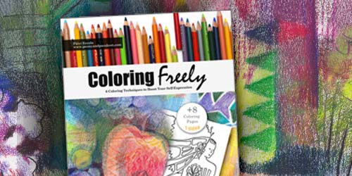 Coloring Freely - E-book with a video.