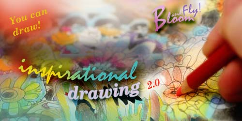 Inspirational Drawing 2.0, online art classes by Paivi Eerola