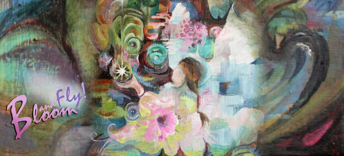 Bloom and Fly - an online art community led by Paivi Eerola of Peony and Parakeet.